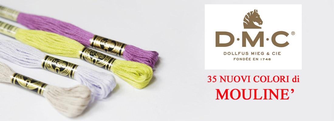 Mouliné DMC nuovi colori