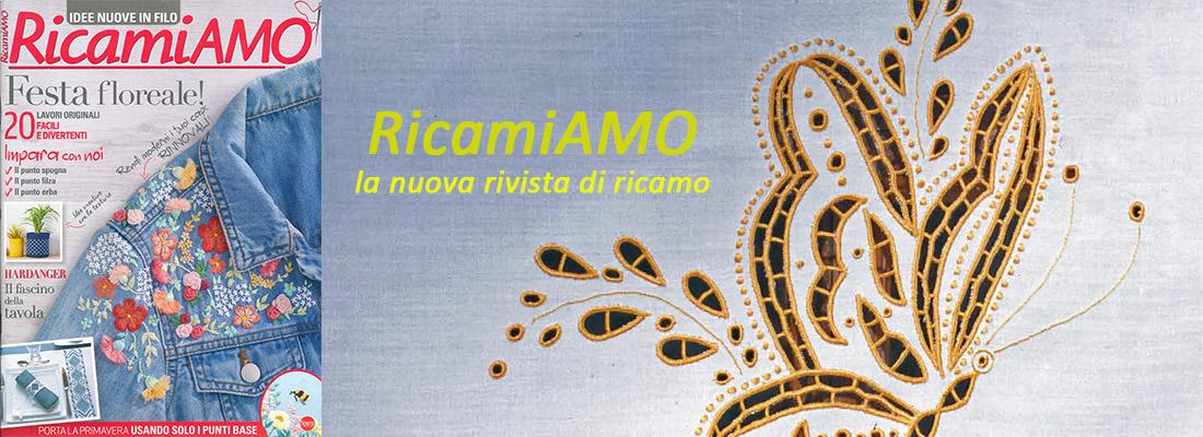 RIVISTA RICAMIAMO